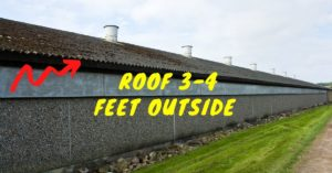 Poultry Farm Roof Outside
