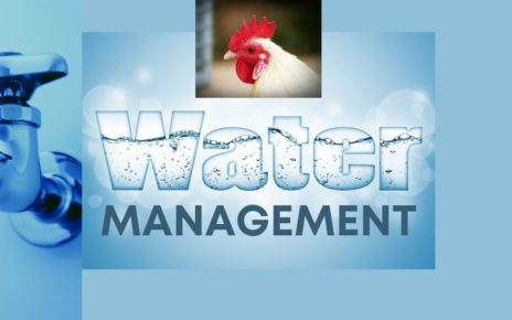 Water management In poultry